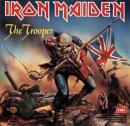 "Iron Maiden ""The Trooper""  EP album artwork"