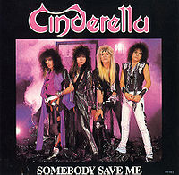 "Cinderella ""Somebody Save Me"" large pic of single"