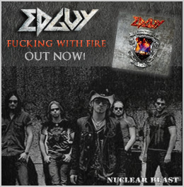 "EDGUY ""Fucking With Fire"" promo image 2009"