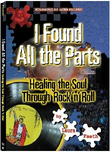 """I Found All The Parts"" Laura Faeth book cover"