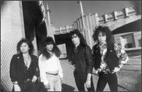 Loudness - Black & White Group Photo