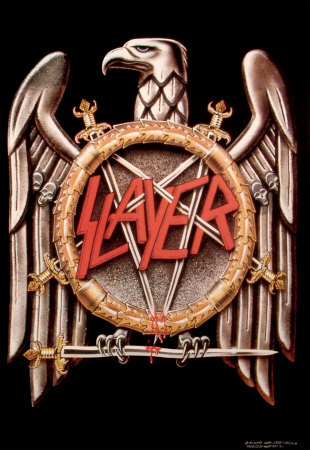 Slayer large eagle logo