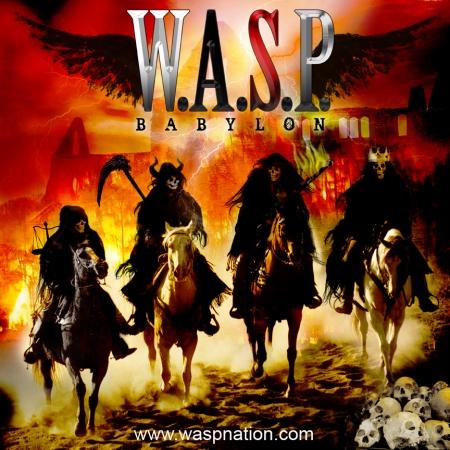 "W.A.S.P. ""Babylon"" large album cover"