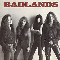 "BADLANDS ""Badlands"" large album pic"