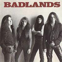 """BADLANDS """"Badlands"""" large album pic"""