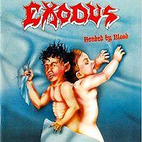 "EXODUS ""Bonded By Blood"" original album cover large pic"