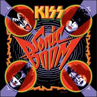 "KISS ""Sonic Boom"" x-large album pic 2009"