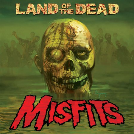 "Misfits ""Land of the Dead"" large album artwork"