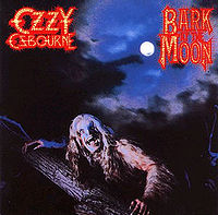"Ozzy Osbourne ""Bark At The Moon"" Large album picture"
