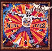 """Aerosmith """"Nine Lives"""" large album pic"""