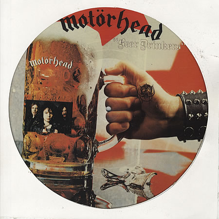 "Motorhead ""Beer Drinkers"" picture disc - front cover - x-large"