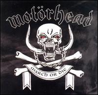 """Motorhead """"March Or Die"""" large album pic"""