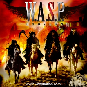 "W.A.S.P. ""Babylon"" large album cover"