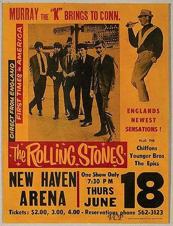 The Rolling Stones Flashback 1964 New Haven Arena