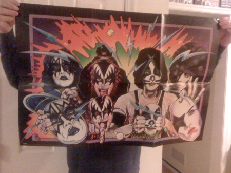 "KISS ""Unmasked"" Poster"