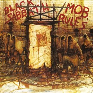"Black Sabbath - ""Mob Rules"" x-large album pick!!!"