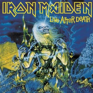 "Iron Maiden - ""Live After Death"" large album pic!!"