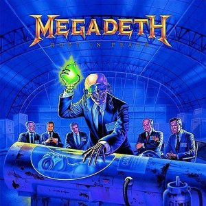 "Megadeth Rust In Peace Cd MEGADETH ""RUST IN PE..."