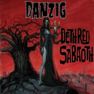 "DANZIG ""Deth Red Sabaoth"" large promo album pic!"