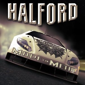 "HALFORD ""IV Made Of Metal"" large promo album pic"
