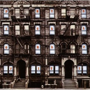 "Led Zeppelin ""Physical Graffiti"" large promo album pic"