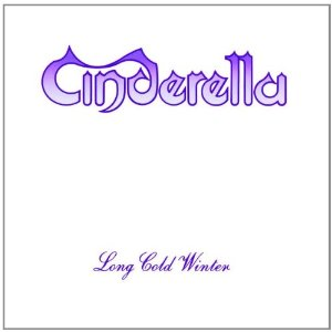 "Cinderella ""Long Cold Winter"" large promo album pic"