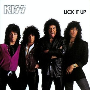 "KISS ""Lick It Up"" large promo album pic!"