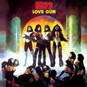 "KISS ""Love Gun"" large promo album pic!"