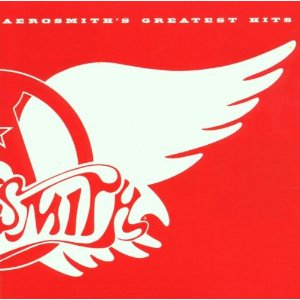Aerosmith's Greatest Hits large promo album pic!