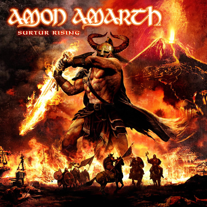 AMON AMARTH Surtur Rising First Week Album Sales Revealed