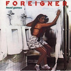 "FOREIGNER ""Head Games"" large promo album pic"