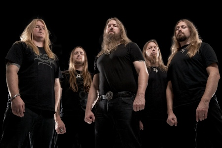 Amon Amarth - group promo pic by Steve Brown