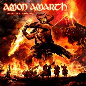"""AMON AMARTH """"Surtur Rising"""" large promo album pic #2!"""