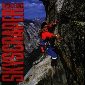 "David Lee Roth ""Skyscraper"" large promo album pic!"