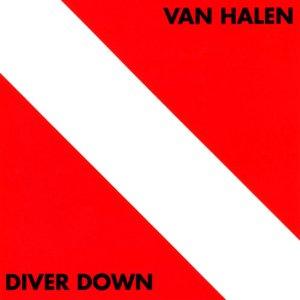 """Van Halen """"Diver Down"""" large promo album pic!"""