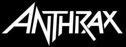 Anthrax - classic white logo!