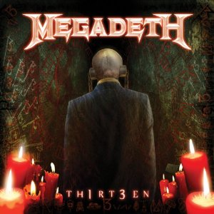 Megadeth - Th1rt3en promo album pic!