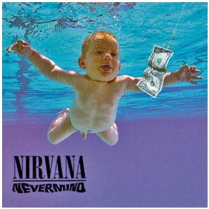 Nirvana - Nevermind - large promo album pic!