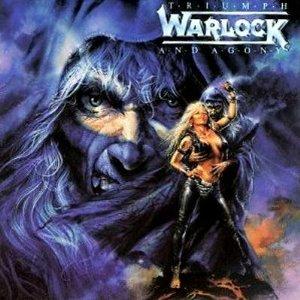 WARLOCK - Triumph And Agony promo album pic!