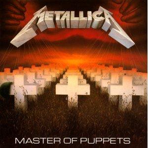 Metallica - Master Of Puppets promo album pic #2!
