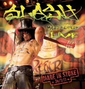 SLASH Made In Stoke Live promo album pic!