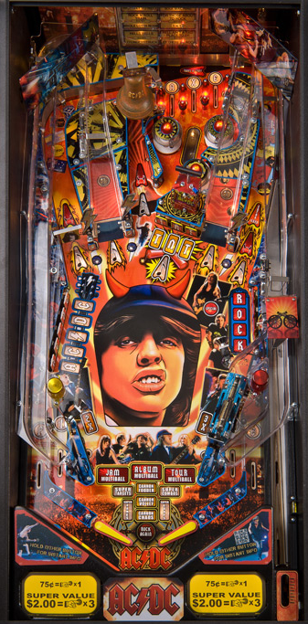 Amazon.com: Old Century Pinball Golf Wood Wooden Table Top ... |Pinball Top View