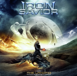 Iron Savior - The Landing promo cover pic!
