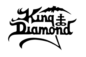 King Diamond - B&W Logo!