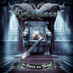 Nightqueen - For Queen And Metal - promo cover pic!!