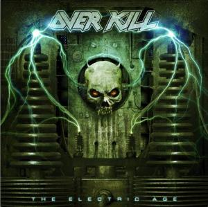 Overkill - The Electric Age - promo cover pic!