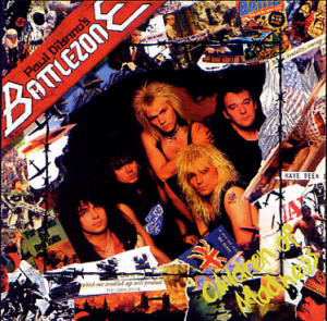 Paul Dianno's Battlezone - promo cover pic #2!