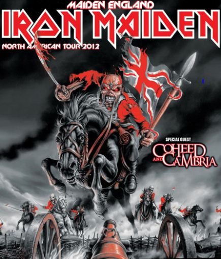 coheed and cambria announces 2012 tour dates with iron maiden metal odyssey heavy metal. Black Bedroom Furniture Sets. Home Design Ideas