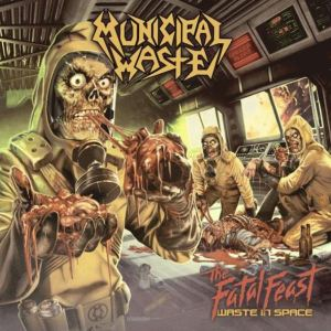 municipal waste - the fatal feast cover promo