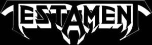 Testament Band Logo B&W